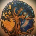 Sonne und Mond Tattoo - ein cooles Foto des fertigen Tätowierung 14072016 3