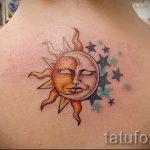 Sterne in der Sonne Tattoo - cool Foto des fertigen Tätowierung 14072016 2