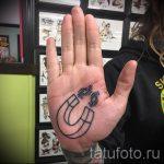 Tattoo Magnet - Foto Beispiel des fertigen Tätowierung auf 24072016 4