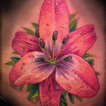 Tattoo-Royal-Lilie - Foto Beispiel der Tätowierung 13072016 1