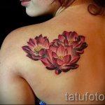 Tattoo Seerose - Foto Beispiel der Tätowierung 13072016 3