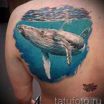 Tattoo-Set blau - Foto der fertigen Version der Tätowierung 14072016 1