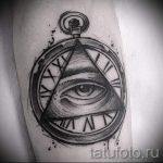 Triangle Eye Tattoo - ein Foto Beispiel für ein cooles Tattoo auf 14072016 1