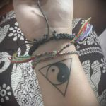 Triangle inversé Tattoo - Photo exemple d'un tatouage frais sur 14072016 1