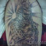 aufgehenden Sonne Tattoo - cool Foto des fertigen Tätowierung auf 14072016 1