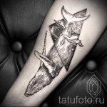baleines dans le tatouage triangle - exemple photo d'un tatouage frais sur 14072016 1