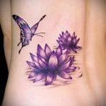 eau tatouage lily - Photo exemplaire du tatouage 13072016 3