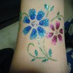 glitter tatouage sur son bras - par exemple Photo de 24072016 1