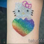 glitter tatouages pour les enfants - par exemple Photo de 24072016 2