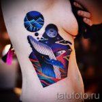 kit de tatouage dans l'espace - la version finale d'une photo du tatouage 14072016 2