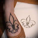 lily Saints de tatouage - Photo exemplaire du tatouage 13072016 1