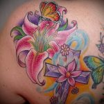 lily Saints de tatouage - Photo exemplaire du tatouage 13072016 2