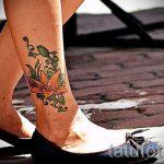 lily tatouage sur sa jambe - par exemple Photo du tatouage 13072016 2