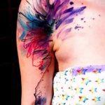 lily tatouage sur son bras - un tatouage de l'exemple de photo 13072016 1