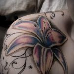 lily tattoo for girls - Photo example of the tattoo 13072016 2