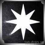 pochoirs, tatouage paillettes - photo exemple de 24072016 2