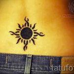 schwarze Sonne Tattoo - cool Foto des fertigen Tätowierung 14072016 2