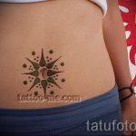 soleil tatouage nombril - une photo fraîche du tatouage fini 14072016 1