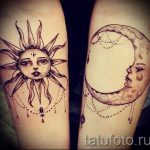 sun and moon tattoo - a cool photo of the finished tattoo 14072016 1