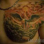 tatouage dieu du soleil - une photo fraîche du tatouage fini sur 14072016 1