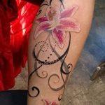 tatouage fleur de lys - exemple photo du tatouage 13072016 1