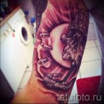 tatouage sous la forme du soleil - une photo fraîche du tatouage fini sur 14072016 1