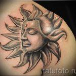 tatouages de soleil pour les hommes - une photo fraîche du tatouage fini 14072016 1