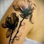 tatouages lys noir - exemple photo du tatouage 13072016 1