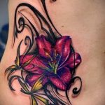 tattoo lily flower - Photo example of the tattoo 13072016 2