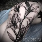 tattoo lily white - Photo example of the tattoo 13072016 1