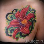 tattoo royal lily - Photo example of the tattoo 13072016 2