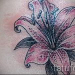 tattoo tiger lily - Photo example of the tattoo 13072016 1