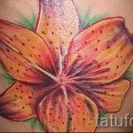 tattoo tiger lily - Photo example of the tattoo 13072016 2