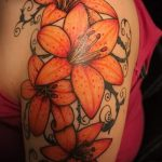 tattoo tiger lily - Photo exemple du tatouage 13072016 1
