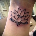 tattoo water lily - Photo example of the tattoo 13072016 3