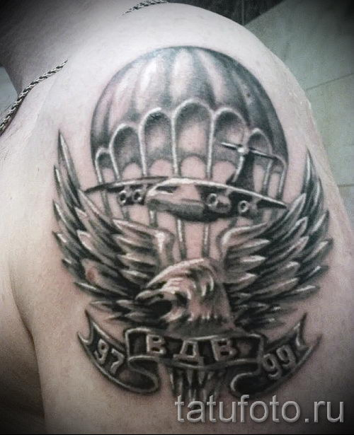 Классны вариант тату для ВДВ - спецназ - фото 25078 tatufoto.ru