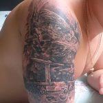 Классны вариант тату для ВДВ - спецназ - фото 32081 tatufoto.ru