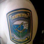 Классны вариант тату для ВДВ - спецназ - фото 39087 tatufoto.ru