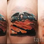 Классны вариант тату для ВДВ - спецназ - фото 43091 tatufoto.ru