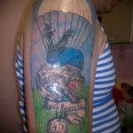 Классны вариант тату для ВДВ - спецназ - фото 52096 tatufoto.ru