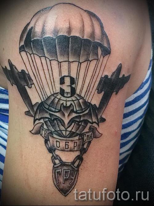 Классны вариант тату для ВДВ - спецназ - фото 8061 tatufoto.ru