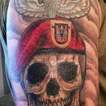 за вдв тату - фото пример татуировки 3051 tatufoto.ru