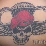 за вдв тату - фото пример татуировки 4052 tatufoto.ru