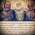 как выглядит тату в старости - пример фото от 01082016 10