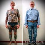 как выглядит тату в старости - пример фото от 01082016 11