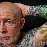 как выглядит тату в старости - пример фото от 01082016 16