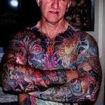 как выглядит тату в старости - пример фото от 01082016 45