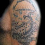 классный вариант тату для ВДВ - фото 2101 tatufoto.ru