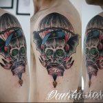 классный вариант тату для ВДВ - фото 3102 tatufoto.ru