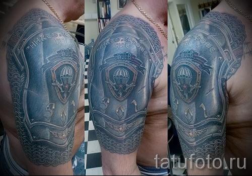 классный вариант тату для ВДВ - фото 4103 tatufoto.ru